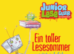 Plakat des JuniorLeseClubs 2017